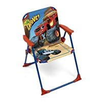 Blaze and the Monster Machines Deck Chair for Kids Indoor and Outdoor Garden Camping Folding Beach Chair Seat