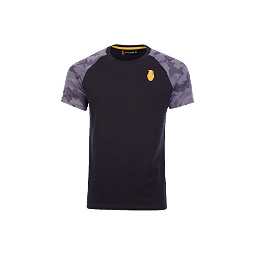 04da70c999e5b Grenade Wear Men's Inception Raglan T-Shirt - Black/ Camo, ...