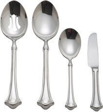 Reed & Barton Manor House 4-Piece Stainless Steel Hostess Set by Reed & Barton -