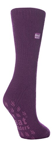 31ksCC49SZL - Heat holders, ladies thermal slipper socks, thermal socks - Multicolour - Medium
