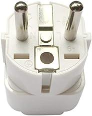 Travel Adaptor for KSA/US/UK/JP/CN/AU Plug Convert to EU/Germany Socket, KSA/US/UK/CA/JP/AU to 2-Pin European