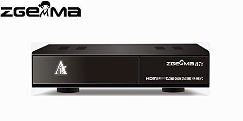 ZGEMMA H7S with 2*DVB-S2X + DVB-T2/C 4K UHD Satellite Receiver FTA IPTV