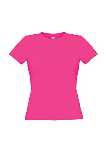 B & C Damen-T-Shirt, nur für PC Rosa - Ultra Pink