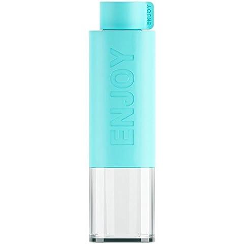 Plastico Botella Agua Deporte 530ML (Blue)