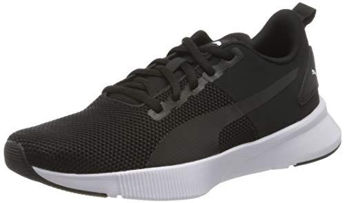 PUMA Flyer Runner, Zapatillas de Running Unisex Adulto, Negro Black Black White, 45 EU