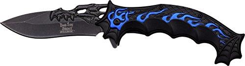 Dark Side Blades Couteau de Poche, Longueur de la Lame : 9,525 cm, Blue Flame dsbl de 1034