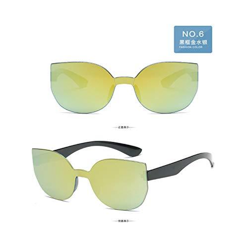 Sportbrillen, Angeln Golfbrille,High Quality Retro Sunglasses Men/Women Brand Designer Fashion Ladies Male Sun Glasses Ms.Man Oculos De Sol Uv400 C6