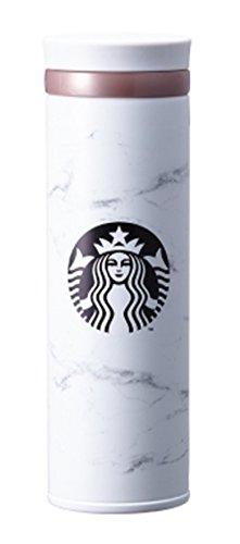 Starbucks JNO Thermobecher Marmor, 445 ml, Weiß
