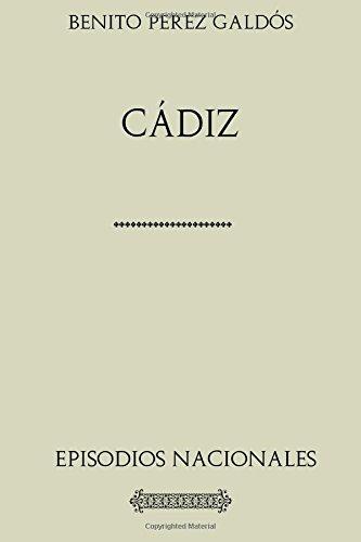 Descargar Libro Colección Galdós. Cádiz de Benito Pérez Galdós