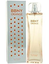 Bbny Orange pour femme Eau de toilette en flacon vaporisateur pour femme, 100ml