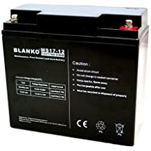 12V 17Ah libre de mantenimiento batería de plomo recargable de plomo ácido Batería de plomo de la batería Accu manta