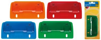 4 Taschenlocher Mini Locher mit Linealfunktion