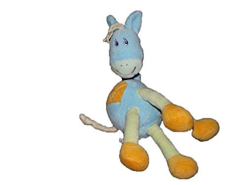 Kiabi–Doudou Kiabi caballo ane azul pata naranja y...