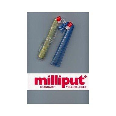 milliput-pate-epoxy-bi-composants-grain-standard-jaune-gris
