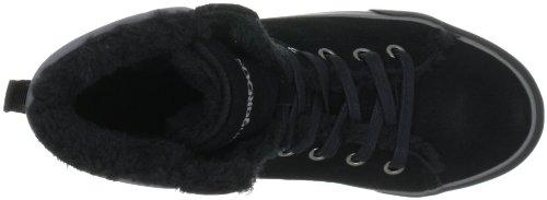 KangaROOS Teddy-Fur 3178A, Sneaker donna Nero (Schwarz (blk/charcoal 502))