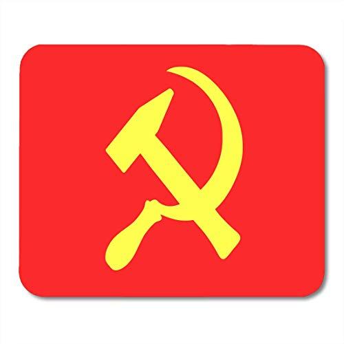 Almohadillas mouse Martillo hoz Símbolo Unión Soviética