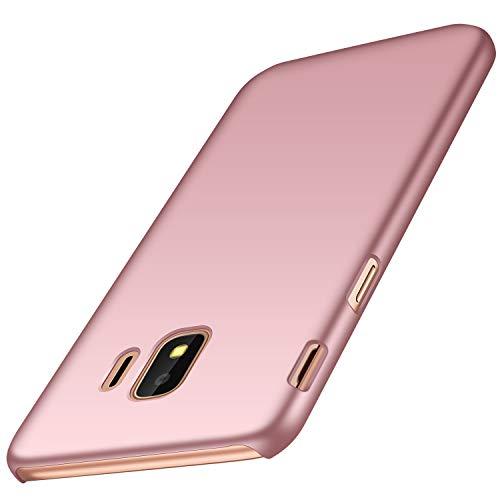 anccer Samsung Galaxy J2 Core Hülle, [Serie Matte] Elastische Schockabsorption und Ultra Thin Design für Samsung Galaxy J2 Core (Glattes Rosen-Gold)