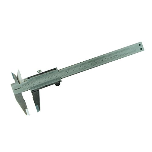 Silverline 675037 Calibro Ventesimale, 150 mm
