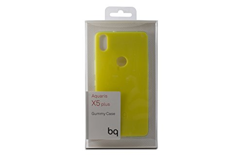 BQ BXBQ693 - Funda para Aquaris X5 Plus, color verde