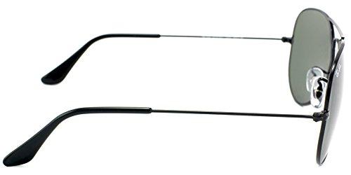 Ray-Ban Aviator Sunglasses (Black) (RY428BL58)