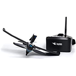 tobyrich smartplane Pro FPV: Smartphone Application gesteuertes VR Stunt Avion-Virtual Reality Drone à Distance pour iOS et Android