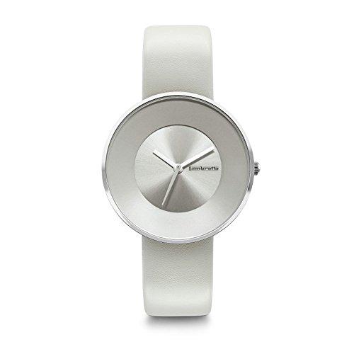 Lambretta 'Cielo 34 Ivory' Quarz Edelstahl Elfenbein Leder Damen Uhr