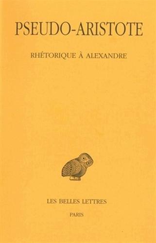 Rhétorique à Alexandre