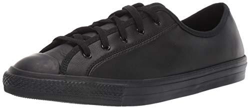 Converse Chucks 564986C Schwarz Chuck Taylor All Star Dainty GS Basic Leather Black Mono, Groesse:36 EU / 3.5 UK / 5.5 US / 23 cm