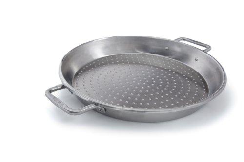 Broil King Paellapfanne, 36x45x5cm. Grill-/Grillzubehör, Edelstahl, 5 x 5 x 5 cm - Broil King-pan