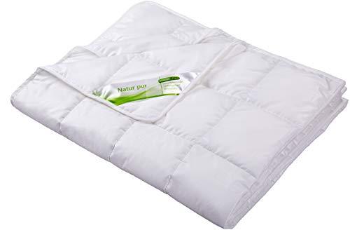 moebelfrank Kinderbettdecke Bettdecke Sommer Lyocell Tencel Baumwolle 100x135