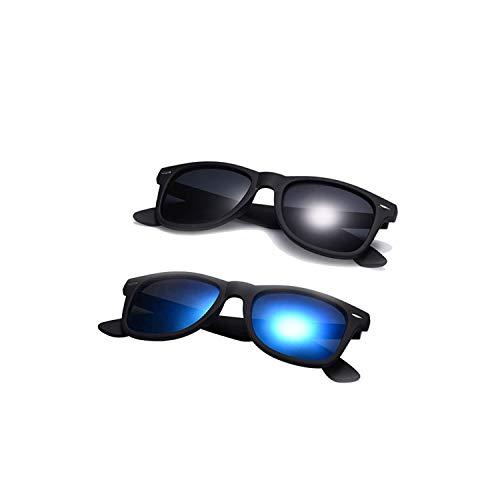 Sport-Sonnenbrillen, Vintage Sonnenbrillen, Fashion Sunglasses Men Polarized Sunglasses Men Driving Mirrors Coating Points Black Frame Eyewear Male Sun Glasses UV400 C5-C4