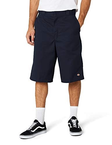 Dickies Herren 13in Mlt Pkt W/St Shorts, Blau (Dark Navy), W36 - Dickies Multi-use Pocket