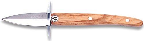 Laguiole Evolution 10050013 Austernmesser, Edelstahl, Schwarz, 23,3 x 2,4 x 1,8 cm