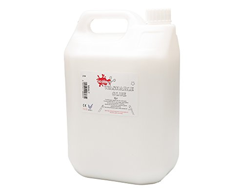 Scola 5ltr washable pva glue - eco - 5 litre craft glue school glue