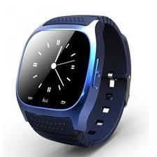 M26 SMARTWATCH BLU TOUCHSCREEN BLUETOOTH orologio VIVAVOCE compatibile con android e IOS - NERO