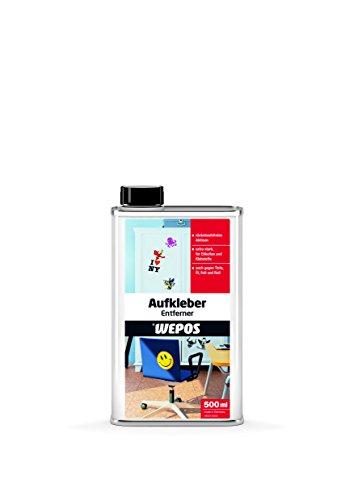 Wepos 2000102101 Aufkleber Entferner 500 ml
