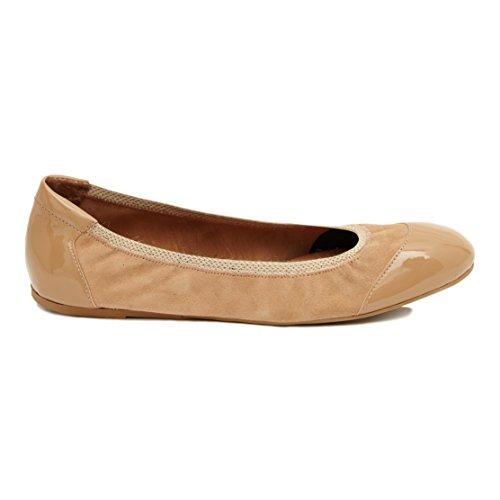 Cocorose London Scarpe Pieghevoli - Chelsea Scarpe da Ballet Donna Antelope