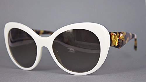 Prada Damen Voice PR26QS Sonnenbrille, Weiß (Ivory 7S31X1), One size (Herstellergröße: 56)