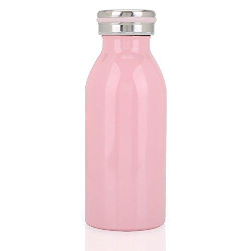 Botella de Agua Acero Inoxidable Portátil Botella Aislada al Vacío Botella Térmica...