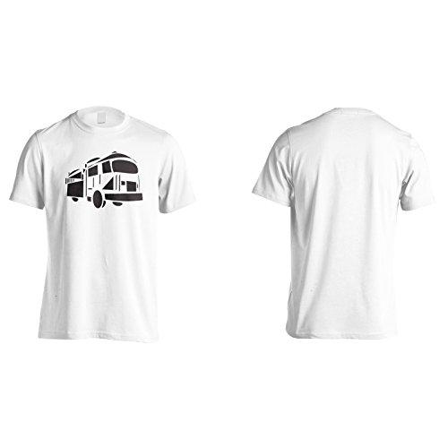Nuovo aereo d'arte divertente novità del pompiere Uomo T-shirt c791m White