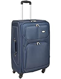 4 Wheel Suitcase Lightweight Soft Case Expandable Luggage Trolley Bags HLG001