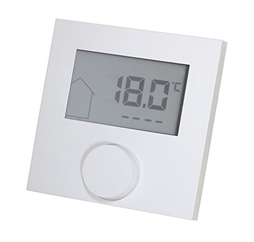 Raumthermostat LCD Alpha direct 230V weiß für Fußbodenheizung