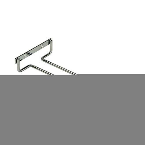 Weinglasregal, 26,9 cm, Edelstahl, zum Aufhängen, Wandmontage, Küchenschrank