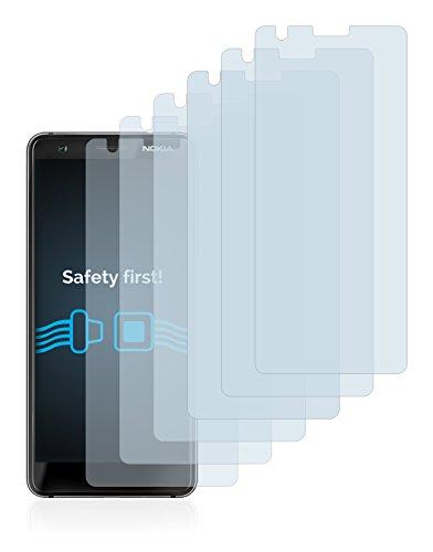 Savvies Pellicola Protettiva Compatibile con Nokia 3.1 Protezione Schermo [6 Pezzi]