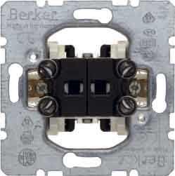 Preisvergleich Produktbild Hager Wippe für Doppel Schalter mit Stellwerk Rolladen 10/250