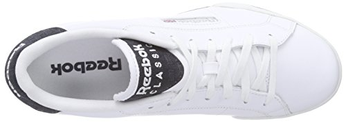 Reebok Npc Rad Pop Herren Tennisschuhe Weiß (White/Faux Indigo/Steel)