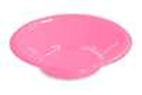 Amscan 355 ml Couleur unie Plastique bols (lot de 20), Plastique, New Baby Pink, 355ml