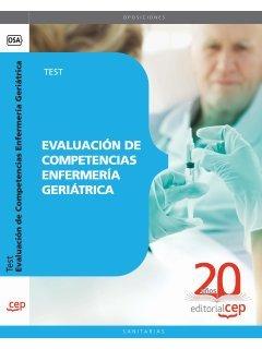 Evaluación de Competencias Enfermería Geriátrica. Test (Colección 1568) por VV.AA.