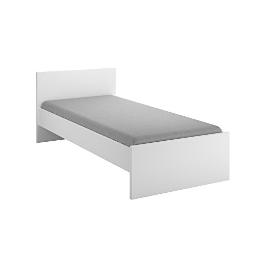 INFINIKIT Haven Bett, 90 x 190/200 cm, Weiß