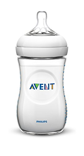 Philips Avent SCF696/27 - Pack de 2 biberones naturales de polipropileno, tetina de flujo medio, 330 ml, color transparente